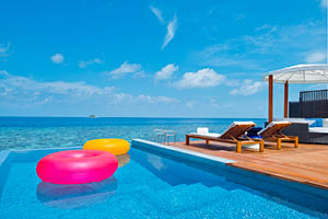 W maldives retreat spa holiday package deals for Absolute bliss salon and retreat